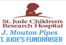 J. Mouton Pipes Benefit For St. Jude's Hospital